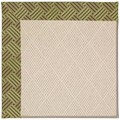 Capel Rugs Creative Concepts White Wicker - Dream Weaver Marsh (211) Octagon 10