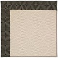 Capel Rugs Creative Concepts White Wicker - Fortune Lava (394) Octagon 10