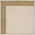 Capel Rugs Creative Concepts White Wicker - Tampico Rattan (716) Octagon 10