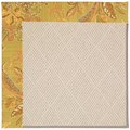 Capel Rugs Creative Concepts White Wicker - Cayo Vista Tea Leaf (210) Octagon 12