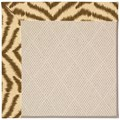 Capel Rugs Creative Concepts White Wicker - Couture King Chestnut (756) Octagon 12
