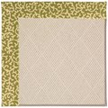 Capel Rugs Creative Concepts White Wicker - Coral Cascade Avocado (225) Runner 2