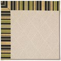 Capel Rugs Creative Concepts White Wicker - Vera Cruz Coal (350) Rectangle 3