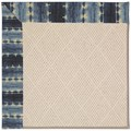 Capel Rugs Creative Concepts White Wicker - Java Journey Indigo (460) Rectangle 3