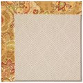 Capel Rugs Creative Concepts White Wicker - Tuscan Vine Adobe (830) Rectangle 3