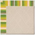 Capel Rugs Creative Concepts White Wicker - Kalani Fresco (239) Rectangle 5