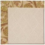 Capel Rugs Creative Concepts White Wicker - Cayo Vista Sand (710) Rectangle 9' x 12' Area Rug
