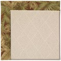 Capel Rugs Creative Concepts White Wicker - Bahamian Breeze Cinnamon (875) Rectangle 12