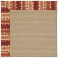 Capel Rugs Creative Concepts Sisal - Java Journey Henna (580) Octagon 6
