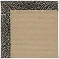 Capel Rugs Creative Concepts Sisal - Wild Thing Onyx (396) Octagon 8