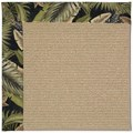 Capel Rugs Creative Concepts Sisal - Bahamian Breeze Coal (325) Octagon 12