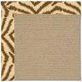 Capel Rugs Creative Concepts Sisal - Couture King Chestnut (756) Octagon 12