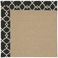 Capel Rugs Creative Concepts Sisal - Arden Black (346) Rectangle 4
