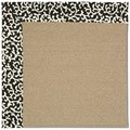 Capel Rugs Creative Concepts Sisal - Coral Cascade Ebony (385) Rectangle 7