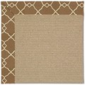 Capel Rugs Creative Concepts Sisal - Arden Chocolate (746) Rectangle 7