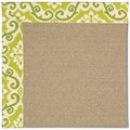 Capel Rugs Creative Concepts Sisal - Shoreham Kiwi (220) Rectangle 8
