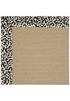 Capel Rugs Creative Concepts Sisal - Coral Cascade Ebony (385) Rectangle 8' x 10' Area Rug