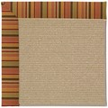 Capel Rugs Creative Concepts Sisal - Tuscan Stripe Adobe (825) Rectangle 8