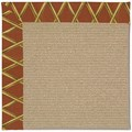 Capel Rugs Creative Concepts Sisal - Bamboo Cinnamon (856) Rectangle 12