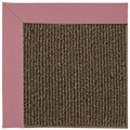 Capel Rugs Creative Concepts Java Sisal - Canvas Coral (505) Octagon 4