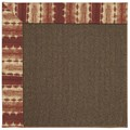Capel Rugs Creative Concepts Java Sisal - Java Journey Henna (580) Octagon 6