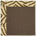Capel Rugs Creative Concepts Java Sisal - Couture King Chestnut (756) Octagon 12