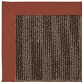 Capel Rugs Creative Concepts Java Sisal - Canvas Brick (850) Octagon 12