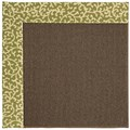 Capel Rugs Creative Concepts Java Sisal - Coral Cascade Avocado (225) Runner 2