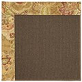 Capel Rugs Creative Concepts Java Sisal - Tuscan Vine Adobe (830) Rectangle 3