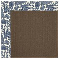 Capel Rugs Creative Concepts Java Sisal - Batik Indigo (415) Rectangle 4