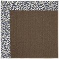 Capel Rugs Creative Concepts Java Sisal - Coral Cascade Navy (450) Rectangle 4