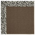 Capel Rugs Creative Concepts Java Sisal - Coral Cascade Ebony (385) Rectangle 7