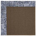 Capel Rugs Creative Concepts Java Sisal - Paddock Shawl Indigo (475) Rectangle 7