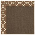 Capel Rugs Creative Concepts Java Sisal - Arden Chocolate (746) Rectangle 7