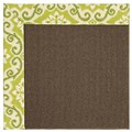 Capel Rugs Creative Concepts Java Sisal - Shoreham Kiwi (220) Rectangle 8