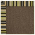 Capel Rugs Creative Concepts Java Sisal - Vera Cruz Coal (350) Rectangle 8