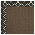 Capel Rugs Creative Concepts Java Sisal - Arden Black (346) Rectangle 9