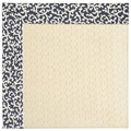 Capel Rugs Creative Concepts Sugar Mountain - Coral Cascade Navy (450) Octagon 4