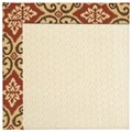 Capel Rugs Creative Concepts Sugar Mountain - Shoreham Brick (800) Octagon 8