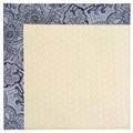 Capel Rugs Creative Concepts Sugar Mountain - Paddock Shawl Indigo (475) Octagon 12