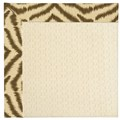 Capel Rugs Creative Concepts Sugar Mountain - Couture King Chestnut (756) Octagon 12