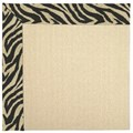 Capel Rugs Creative Concepts Beach Sisal - Wild Thing Onyx (396) Octagon 10