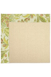 Capel Rugs Creative Concepts Beach Sisal - Cayo Vista Mojito (215) Rectangle 6' x 6' Area Rug