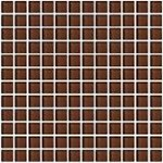 "Daltile Color Wave Glass Mosaic 1"" x 1"" : Root Beer CW1111MS1P"
