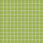 "Daltile Color Wave Glass Mosaic 1"" x 1"" : Lime Glow CW3311MS1P"