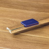 "Quick-Step Eligna:  Incizo Trim Brazilian Cherry Double Plank - 83"" Long"