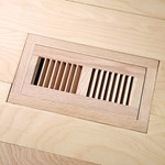 "LW Mountain Pre-Finished Hand-Scraped Oak: Golden Flush Mount 4"" x 12"" Vent"