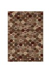 Shaw Living Concepts Flora Vista (Red) Rectangle 3'11