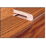 "EcoTimber EcoBamboo: 9/16"" Solid Woven Bamboo Stair Nose Honey - 78"" Long"