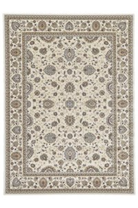 Shaw Living Kathy Ireland Home Essentials Sonnet Border (Natural) Rectangle 3'10